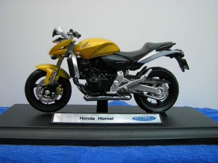Honda Hornet Gold 1:18 Welly