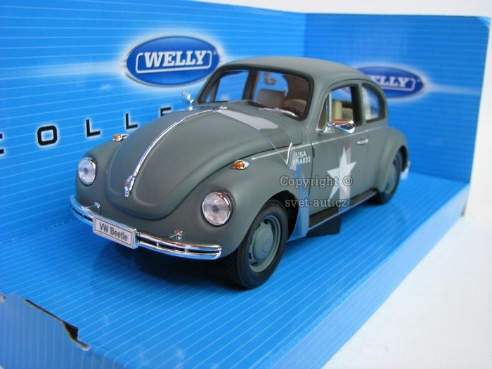Volkswagen Beetle USA 1:24 Welly