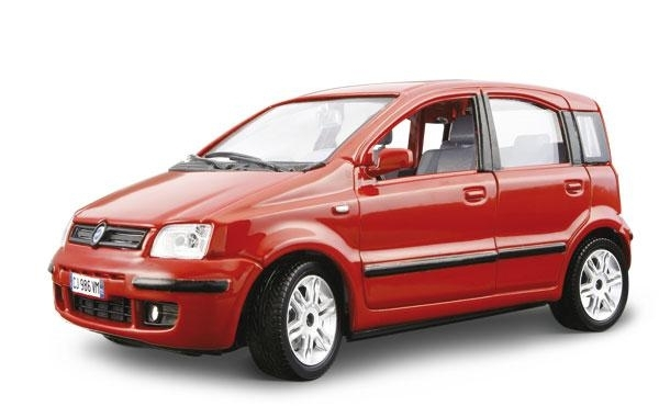 Fiat Nuova Panda 2003 Red 1:24 Kit Bburago