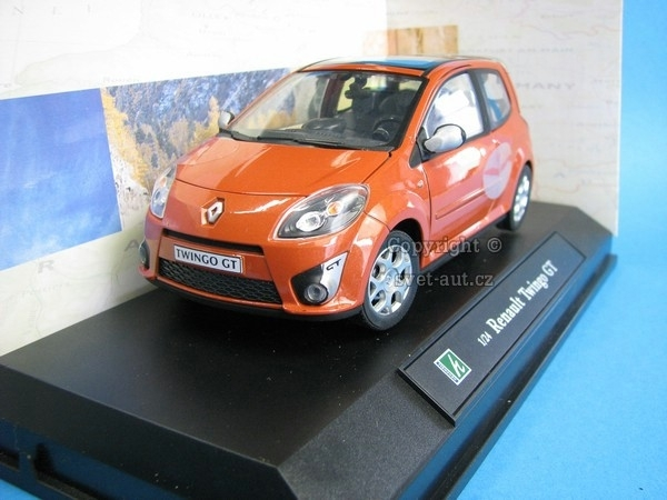 Renault Twingo GT orange 1:24 Cararama