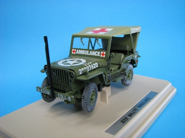 Jeep Willys Ambulance 1:24 Kaden
