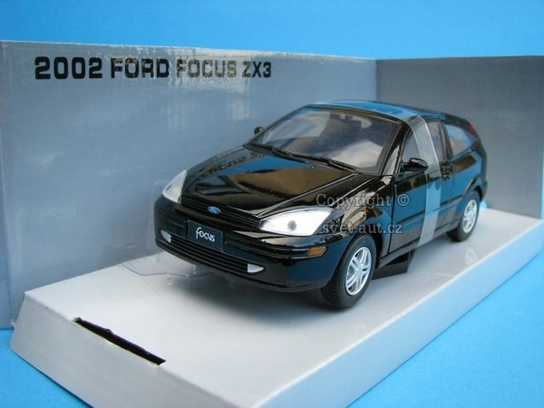 Ford Focus ZX3 black 1:24 Mondo Motors