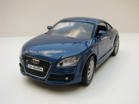 Audi TT Coupe 2007 blue 1:18 Mondo Motors