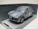 Porsche Cayenne Turbo grey 1:18 Mondo Motors