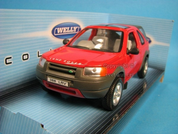 Land Rover Freelander red 1:24 Welly
