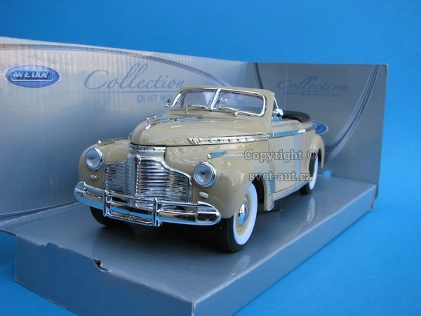 Chevrolet Special Deluxe 1941 beige 1:24 Welly