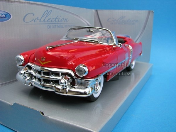 Cadillac Eldorado 1953 open cabrio red 1:24 Welly