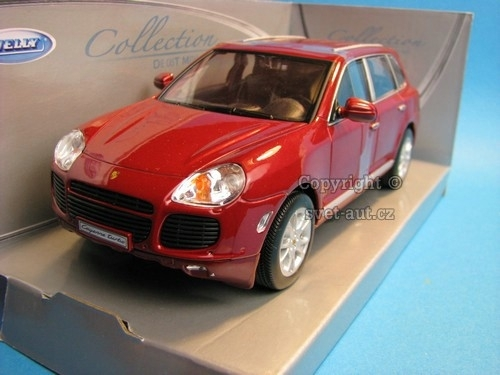 Porsche Cayenne Turbo Redbrown 1:24 Welly