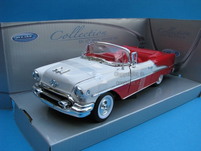 Oldsmobile Super 88 1955 RW 1:24 Welly