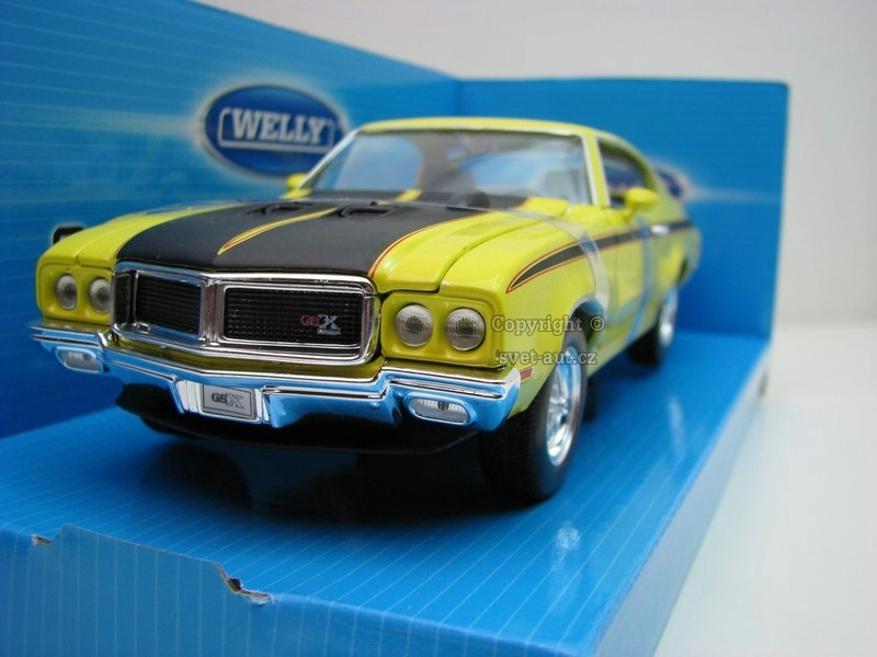 Buick GSX 1970 yellow 1:24 Welly
