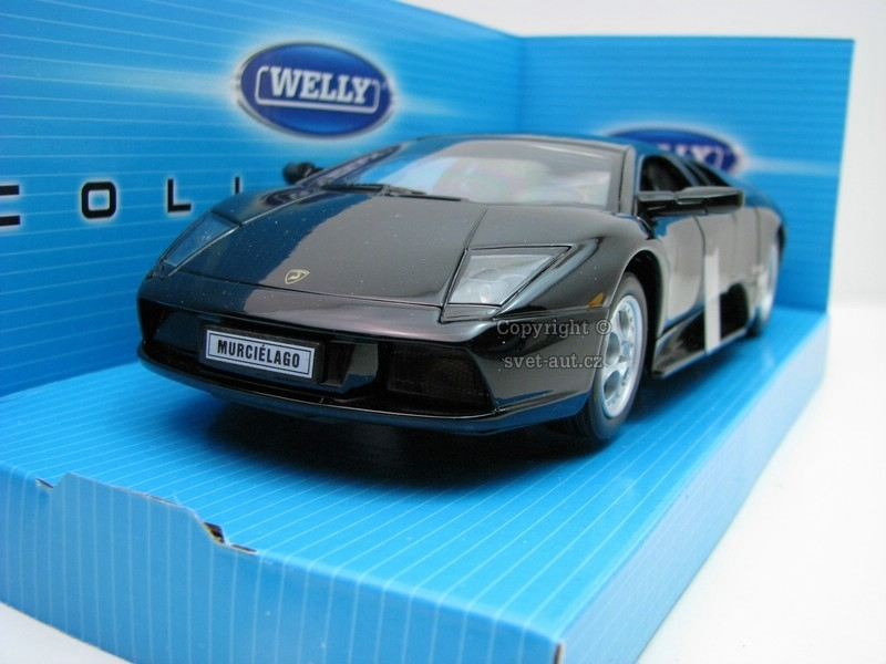 Lamborghini Murciélago black 1:24 Welly