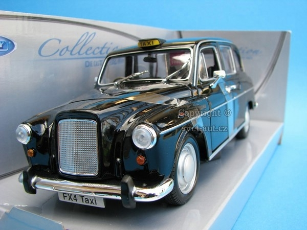 Austin FX4 London Taxi black 1:24 Welly
