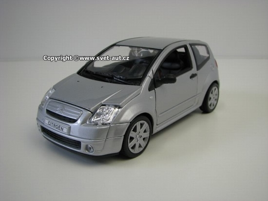 Citroen C2 Silver 1:24 Welly