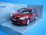 Volkswagen Golf V red 1:24 Welly