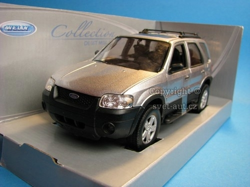 Ford Escape Limited 2005 Silver 1:24 Welly