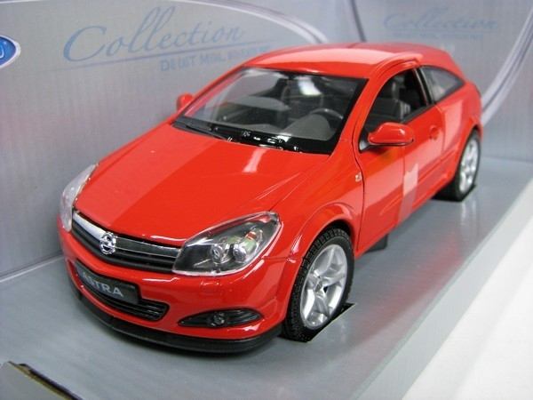 Opel Astra GTC 2005 red 1:24 Welly
