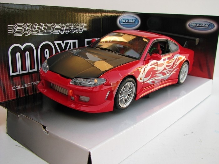 Nissan S-15R Tuning red 1:24 Welly