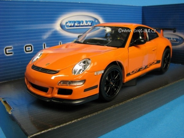 Porsche 911 (997) GT3 RS Orange 1:24 Welly