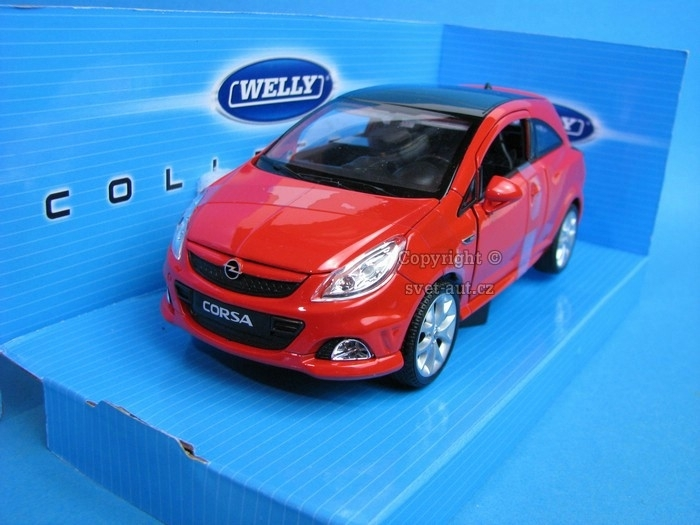 Opel Corsa OPC red 1:24 Welly