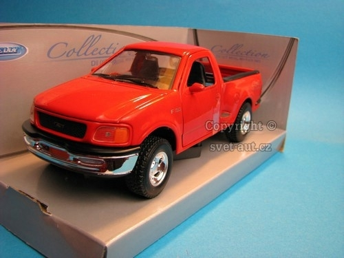 Ford F-150 1998 Regular Cab Flareside Pick Up Red 1:24 Welly