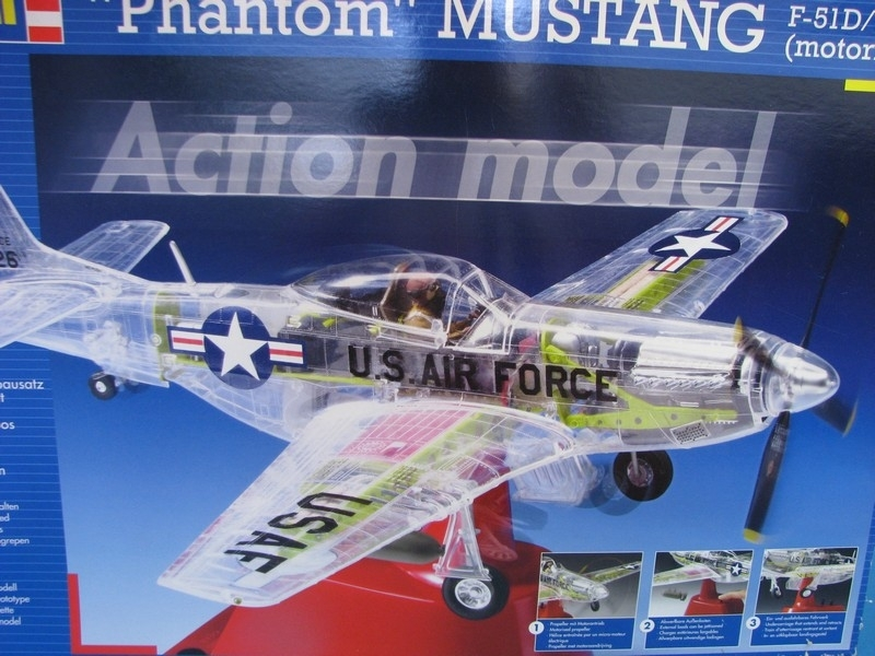 Letadlo Phantom Mustang F-51D/P-51K Kit 1:32 Revel