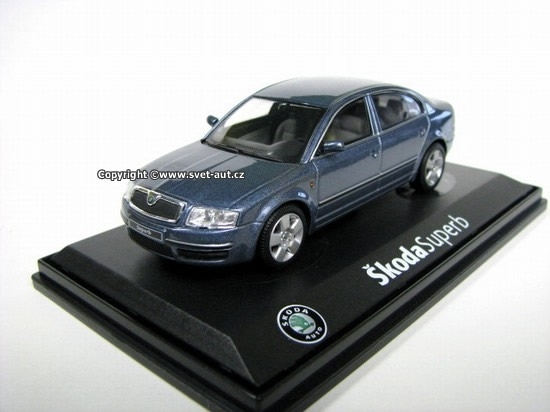 Škoda Superb 2001 KB 1:43 Abrex