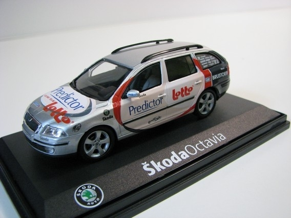 Škoda Octavia Combi XT Tour de France Predictor Lotto 1:43 Abrex