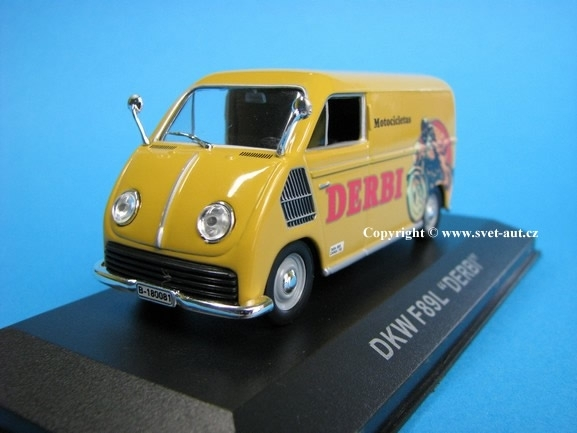 DKW F89L Derbi 1:43 Atlas