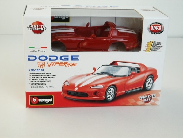 Dodge Viper RT/10 1:43 KIT Bburago