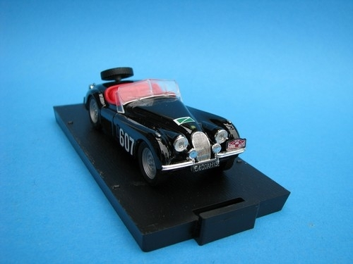 Jaguar XK1 Rally 1953 No.607 1:43 Brumm