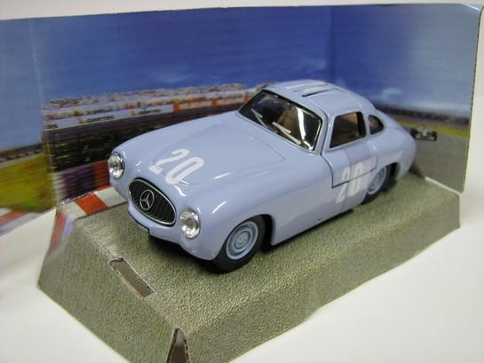 Mercedes-Benz 300SL Prototype blue No.20 1:43 Cararama