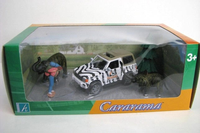 Mitsubishi Safari set 1 1:43 Cararama 113
