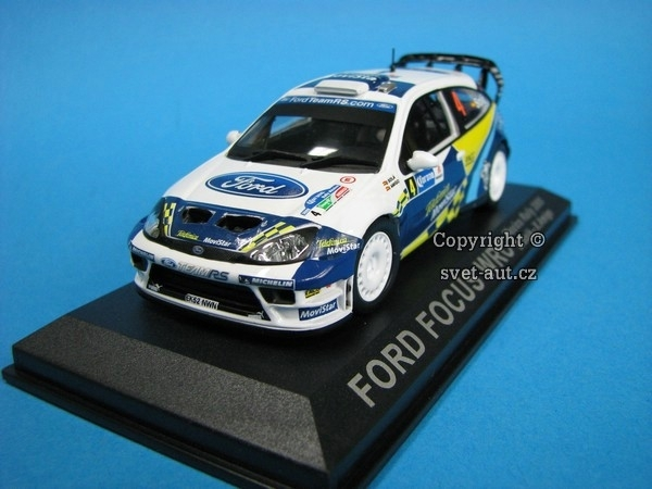 Ford Focus RS WRC Mexico Rally 2005 1:43 DeAgostini