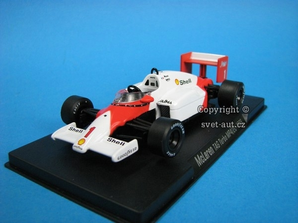 McLaren TAG Turbo MP4/2C- 1986 1:43 DeAgostini