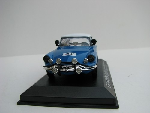 Citroen DS 21 No.87 Bianchi London Sydney Marathon 1968 1:43 DeAgostini