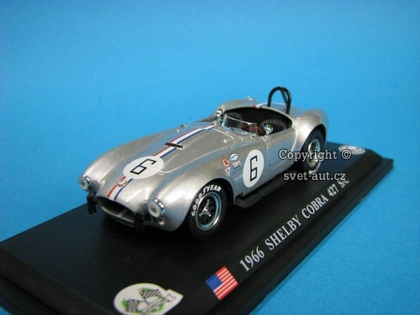 Shelby Cobra 427S/C No.6 1966 1:43 Del Prado