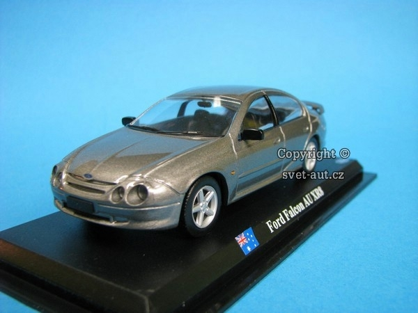 Ford Falcon AU XR8 grey 1:43 del Prado