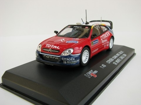 Citroen Xsara WRC No.3 Rally MC 2004 Loeb 1:43 High Speed