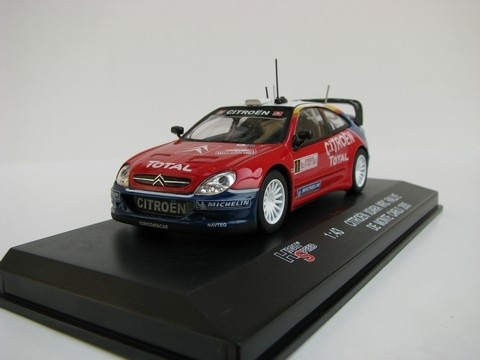 Citroen Xsara WRC No.1 Rally MC 2005 Loeb 1:43 High Speed