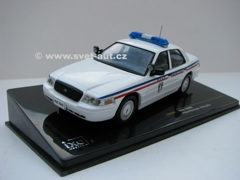Ford Crown Police Municipal-Montpelier 1:43 IXO