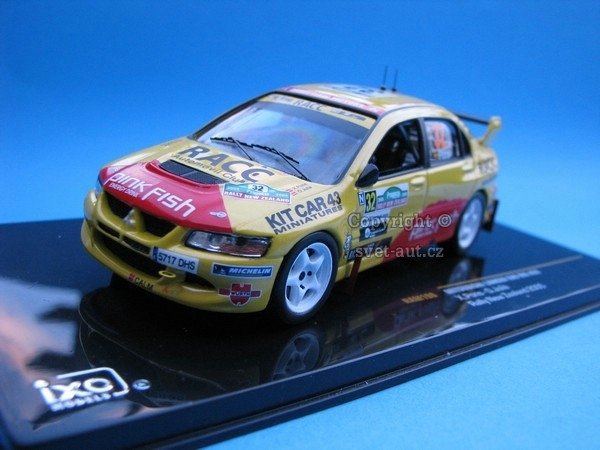 Mitsubishi Lancer Ewo VIII No.3 Rally New Zealand 2005 1:43 Ixo