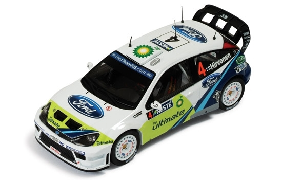 Ford Focus WRC No.4 Hirvonen Rally Finland 2005 1:43 Ixo