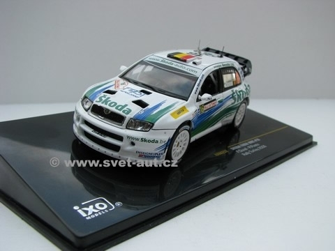 Škoda Fabia WRC No.16 Rally Turkey 2006 1:43 IXO