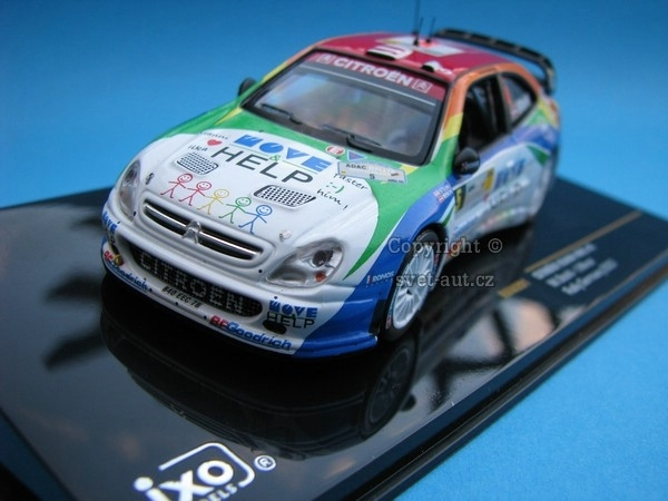 Citroen Xsara WRC No.5 Rally Germany 2007 1:43 Ixo