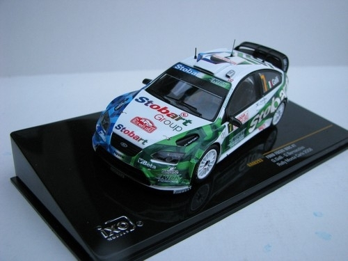 Ford Focus WRC No.7 Rally MC 2008 1:43 Ixo