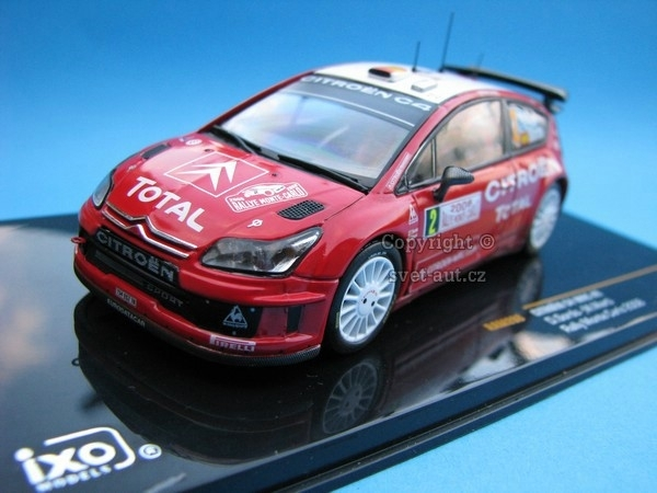 Citroen C4 WRC No.2 Sordo Rally MC 2008 1:43 Ixo