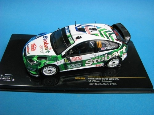 Ford Focus RS 07WRC No.16 M.Wilson Rally MC 2008 1:43 Ixo