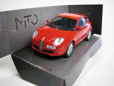 Alfa Romeo MITO red 1:43 Mondo Motors