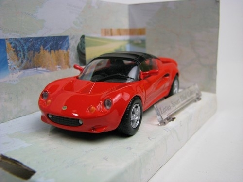 Lotus Sport Elise Cabriolet Hard Top red 1:43 Cararama