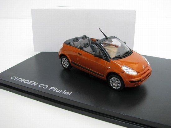 Citroen C3 Pluriel 4v1 1:43 Norev Orange